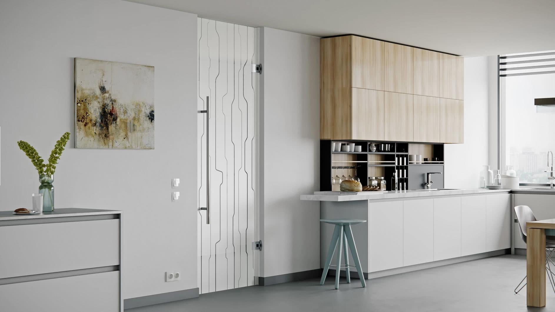 Modern Frameless Glass Swing Doors