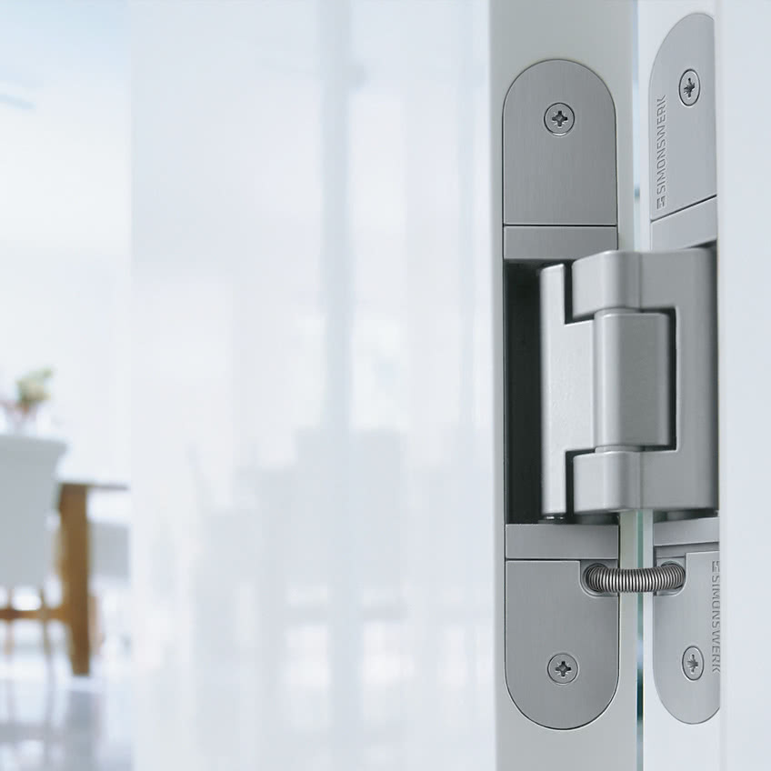 Concealed Hinges with 3D Adjustability