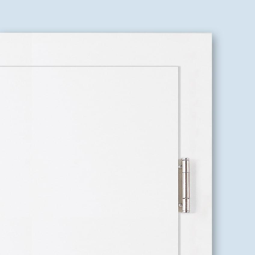 V4426- 3-part hinge for rebated doors